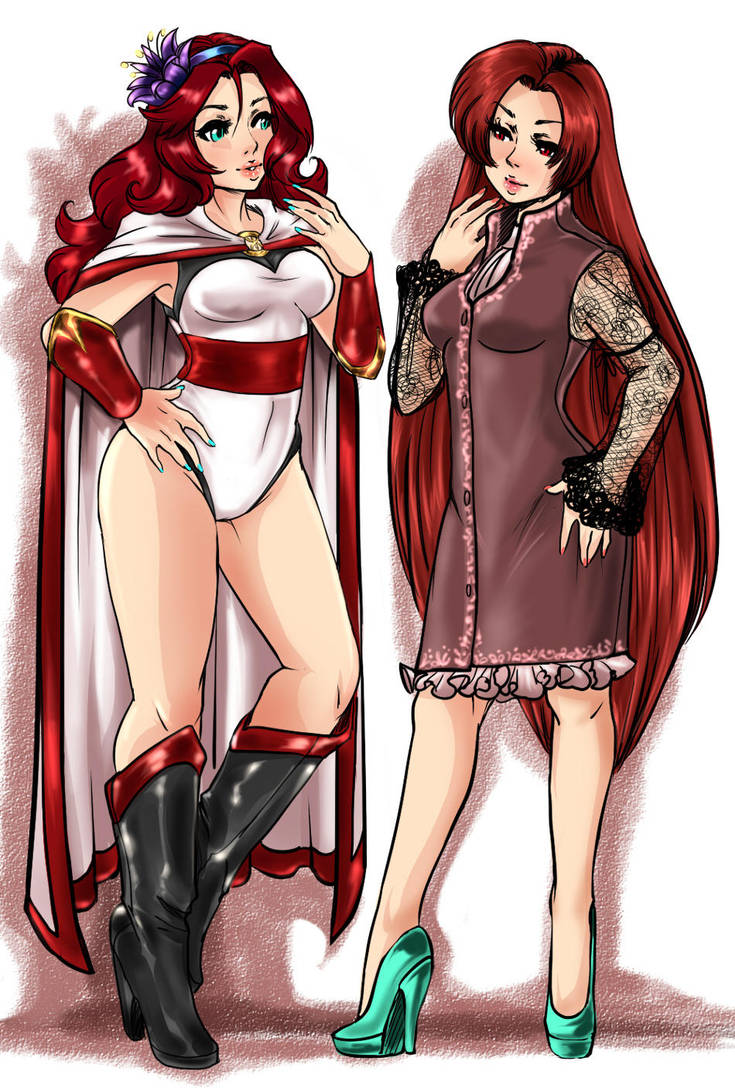 Two Hot Redheads by Griddles