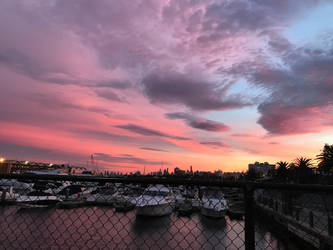 Red Morning Sky by Griddles