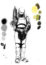 HALO-SPI suit illustration by ironsonic