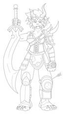 Ogre Warlord by Dark-Link-Reborn