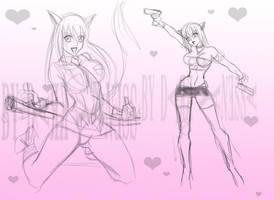 Powerpuff Kittens Girls by Dark-Vanessa
