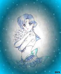 Sailor Mercury by Dark-Vanessa