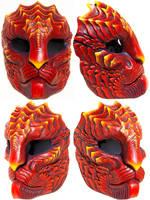 Miss Monster Dragoncat Mask by Felissa