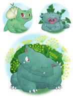 Fennel Bulbasaur by Felissa