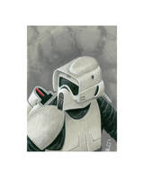 Biker Scout - Daily Sketch by Geekincognito