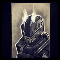 Destiny - Daily Sketch by Geekincognito
