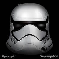 Episode 7 Stormtrooper - Vector by Geekincognito