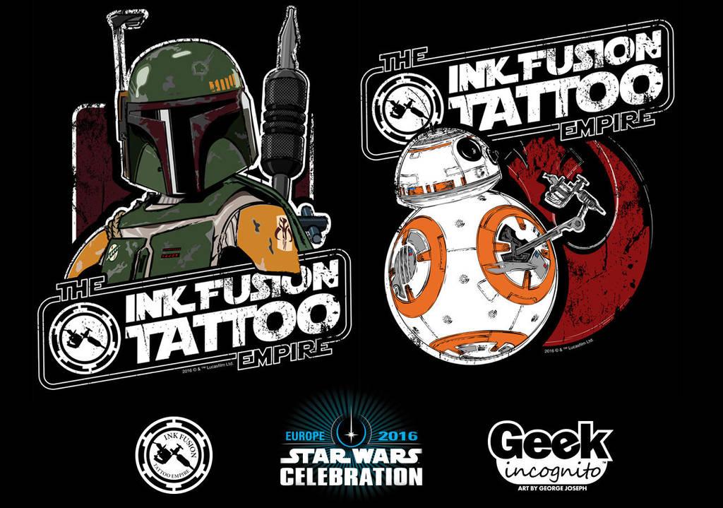 Star Wars Celebration Europe Shirt Art by Geekincognito