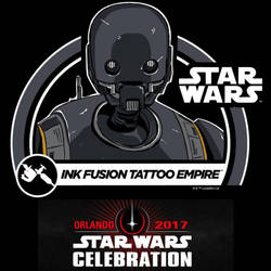 Star Wars Celebration Orlando K2SO Ink Fusion by Geekincognito