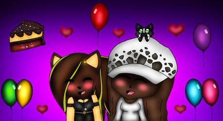.:Happy B-Day Elin!!:. by Lillythehedgehog1