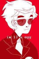 im 13 u egg by digitallyImpaired