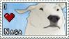 I :heart: Naga Stamp by juanito316ss