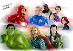 Avengers by Lightning-Stroke