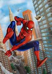 Spider - Man by Lightning-Stroke