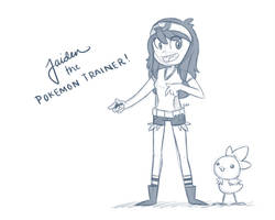 Pokemon Trainer by JaidenAnimations