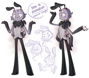 Character Design: spider guy lol by JaidenAnimations