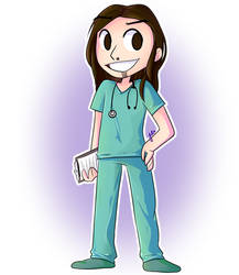 Male Nurse Patreon Commission by JaidenAnimations