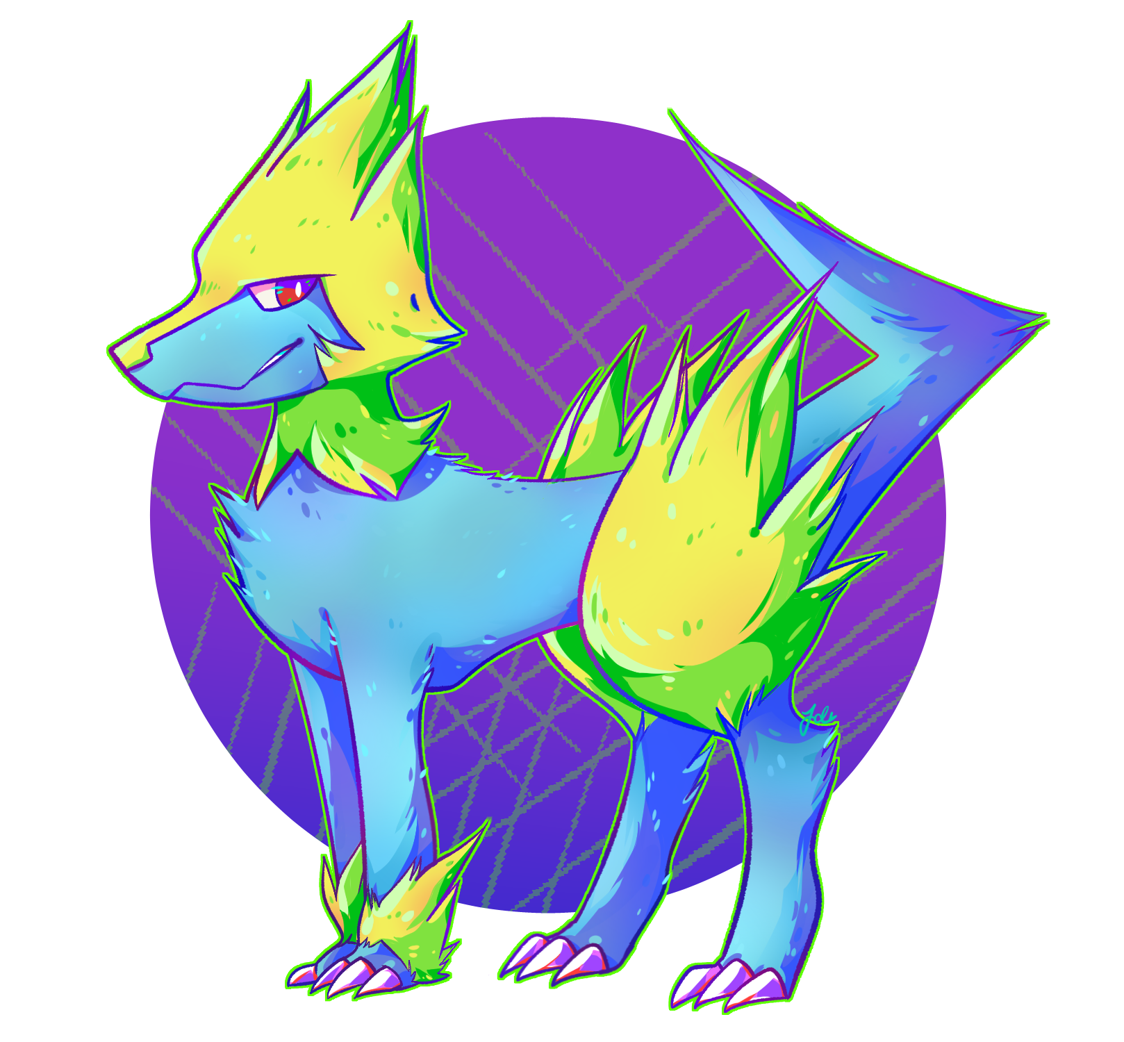 Manectric by JaidenAnimations