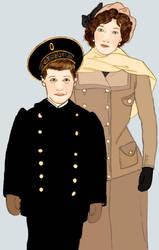 Alyosha and Tanya by KeeganYoung