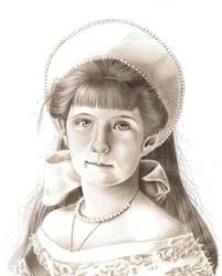 Anastasia Nicholaievna by KeeganYoung