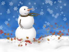 Snowman by nowhereman2k3