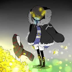Flowerfell by shion396