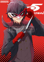 [FanArt] Persona5: Akira by shion396