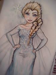 Elsa (Frozen) by HarU1989