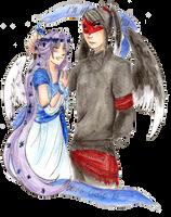 .: COMM :. Mizuchii Addler and Blanche by yukifubuki