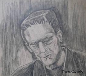 Karloff's Frankenstein by BakaNyaNya
