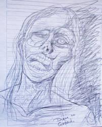 zombie by BakaNyaNya