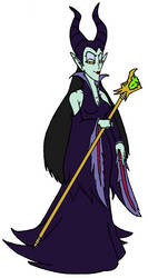 Dizgaia ~ Maleficent by KaosJay666