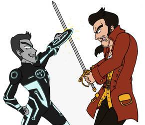 Dizgaia ~ Tron VS. Gaston by KaosJay666