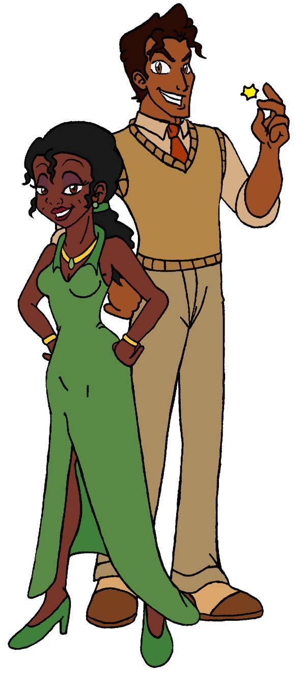 Dizgaia ~ Tiana and Naveen by KaosJay666