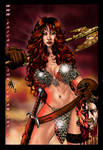 Red Sonja by ericalannelson