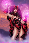 The Scarlet Witch by ericalannelson