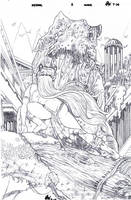 Prymal 3 Cover pencils by ericalannelson