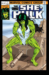 She-Hulk Commission logo by ericalannelson