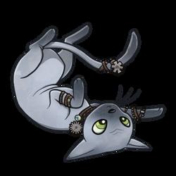 Wkurzobrazek Steampunk Cat by Ithlini