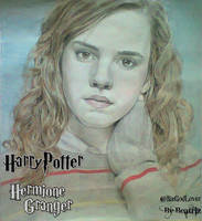 Hermione Granger - Harry Potter - Drawing by BeatrizLoveMyJesus