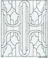 Art Deco + New Style Mix Quad by veraukoion