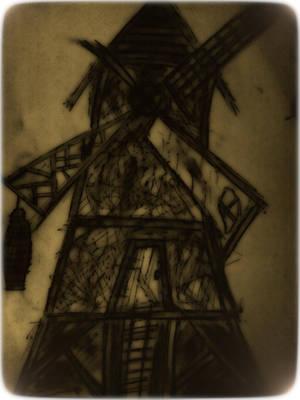 Creeeeepy Windmill by SaintImber