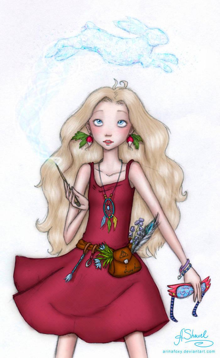 ...Luna Lovegood... by ArinaFoxy
