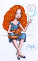 ...First magic... by ArinaFoxy