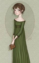 ...Elizabeth Bennet... by ArinaFoxy