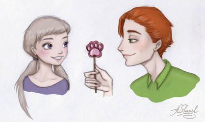 ...Judy and Nick... by ArinaFoxy