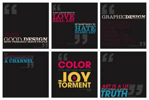 typography postcards 2 by smarvo