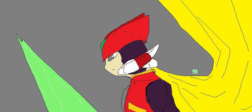 Megaman Zero - Zero by rfqkml