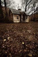 Old Gold Mining Hut by je5ta