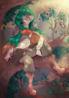 (Pokemon) Decidueye Gijinka by tenofold